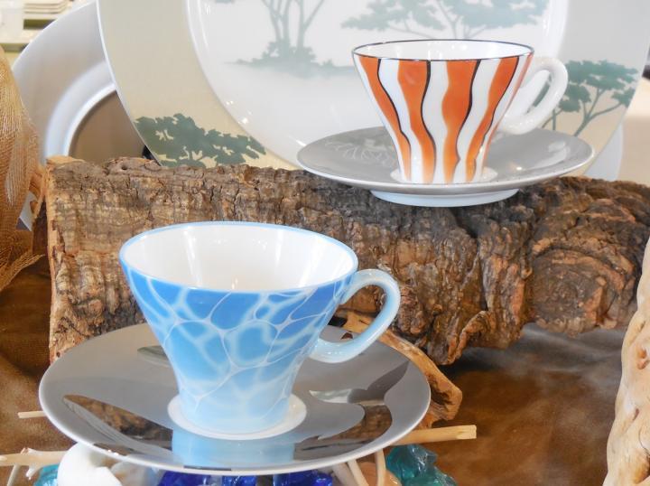 クマノミ ビックブルー 碗皿