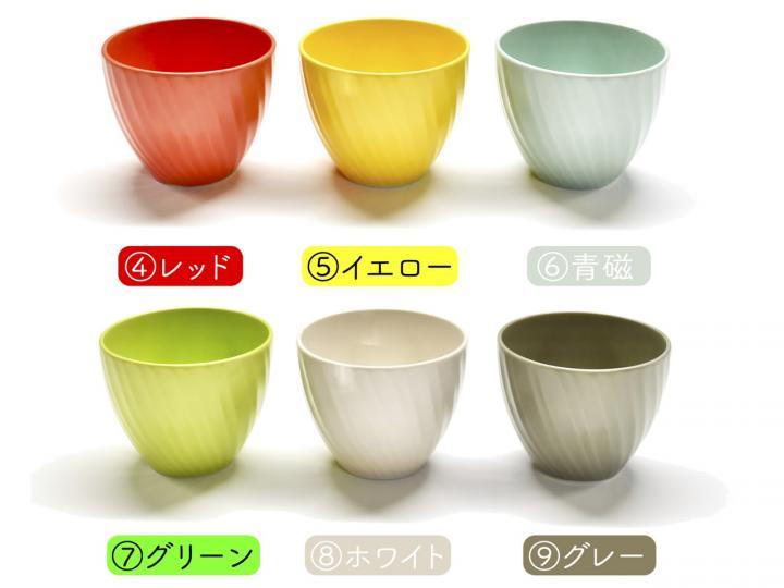 カラー6色カップ